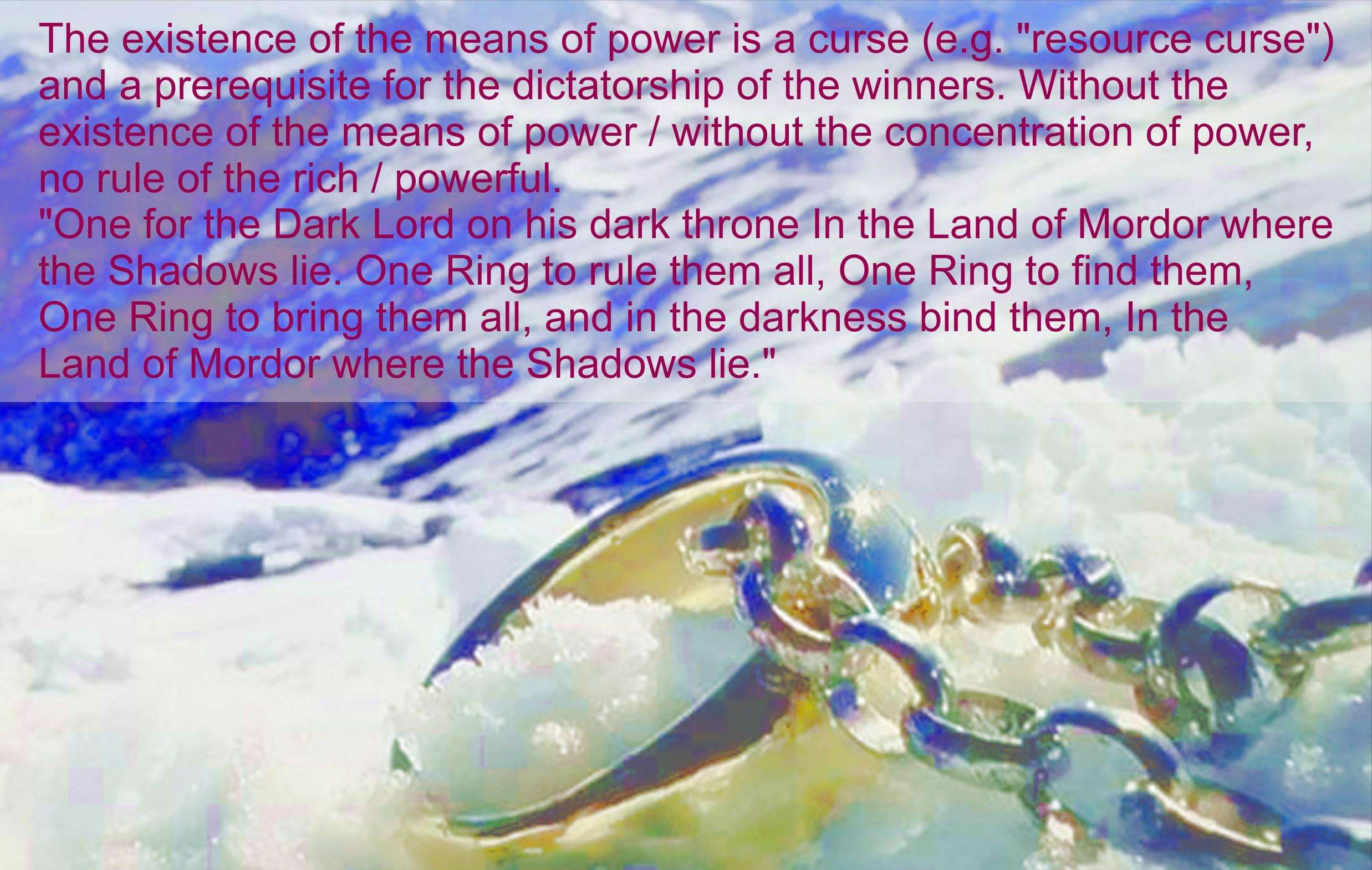 Herr der Ringe - Fluch der Machtmittel